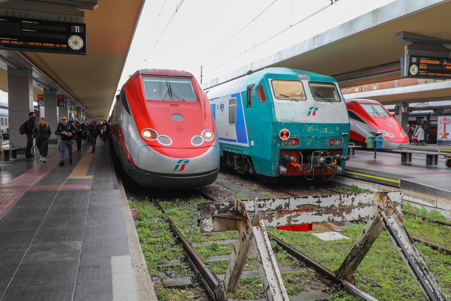 Met de trein naar Turijn reizen